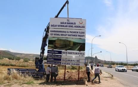 125 Yataklı Yeni Pazarcık Devlet Hastanesinde İlk Kazma Vuruldu