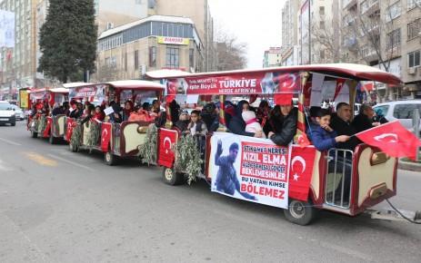 12 Şubat Kutlamalarına Pazarcık Ekspres Yine Damga Vurdu