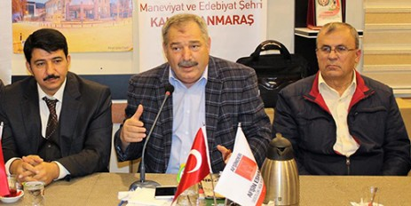 Afşinder, Yavuz Zarifoğlu'nu Konuk Etti