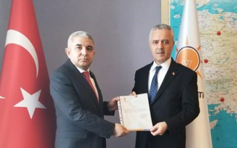 AK Parti Dulkadiroğlu İlçe Başkanı Şahin Avşaroğlu Oldu