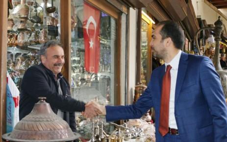 AK Parti İl Teşkilatı Referandum İçin Sahaya İndi