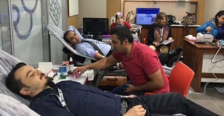 Akedaş'tan Kızılay'a Kan Bağışı Kampanyası