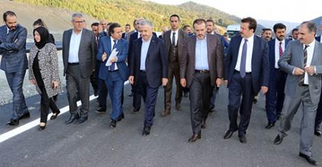 Bakan Arslan, Kahramanmaraş'ta Yatırımları İnceledi