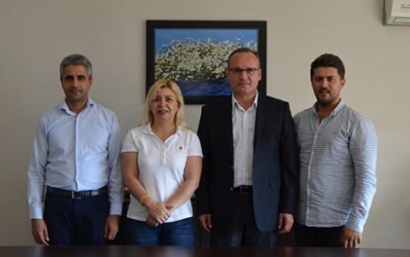 Başkan Doğan'dan Gazetemize Ziyaret