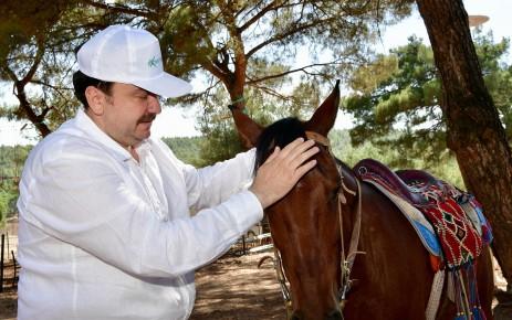 Başkan Erkoç Kapıçam Ekstrem Spor Merkezi'nde