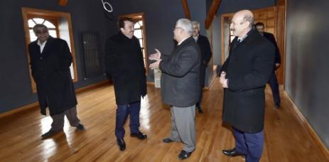 Başkan Erkoç Yedi Güzel Adam Edebiyat Müzesi'nde