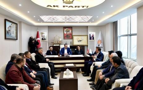 Başkan Erkoç'tan Elbistan Teşkilatına Ziyaret