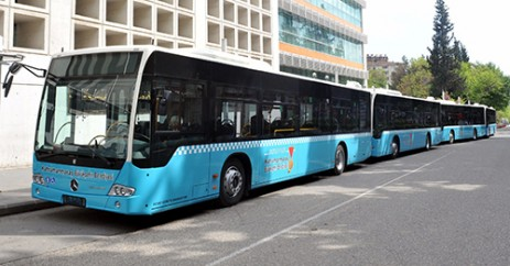 Büyükşehir Belediye Otobüsleri Ücretsiz