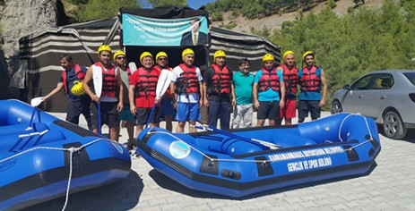 Büyükşehir'de Rafting Branşı da Kuruldu