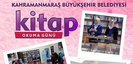 Büyükşehir'den Hanımlara Kitap Okuma Günü