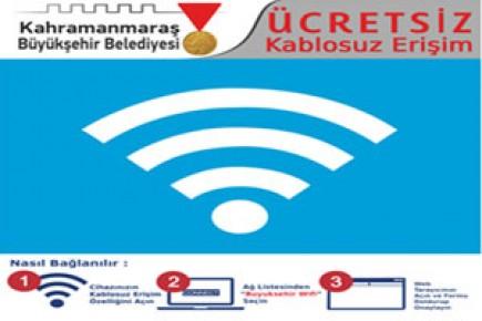 Büyükşehir'den İnternet Bedava