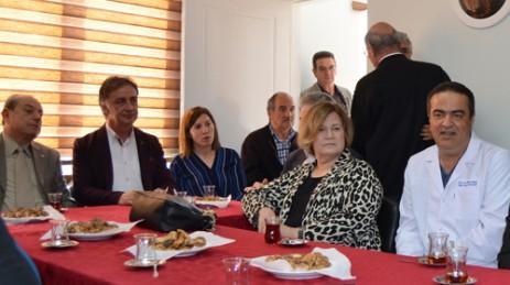 Doç. Dr. Meşe'den Kafkas Kültür Derneği'ne Ziyaret