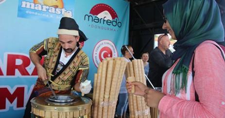 Dondurma Tırı Mersin'de