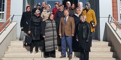 Dulkadiroğlu Ak Parti Kadın Kollarından 112 Açm'yi Ziyaret