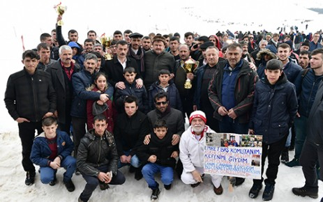 Geleneksel Kızak Türkiye Şampiyonası Yapıldı