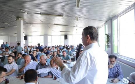 Güvenç; Vatandaş Sorunu AK Parti Çözer Diyor
