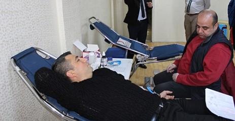 Hal Müdürlüğü'nden Kan Bağışı