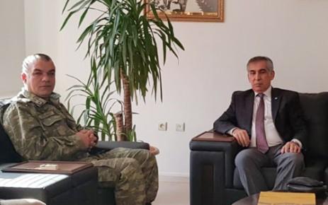 İYİ Parti'den Garnizon Komutanına Ziyaret