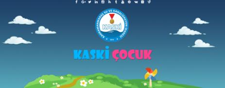 KASKİ'den Çocuklara Özel Web Sitesi