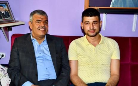 Kaynak'tan Terör Gazisi Mustafa Nacar'a Umre Sözü