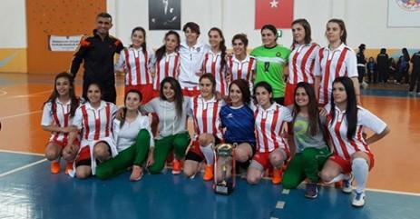 KSÜ Bayan Salon Futbolu Takımı 1. Lige Yükseldi