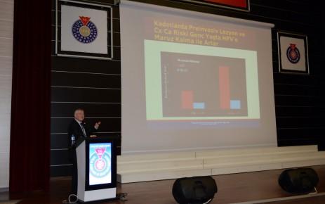 KSÜ'de, 'Rahim Ağzı (Serviks) Kanseri ve Tedavisi' Konulu Konferans Düzenlendi
