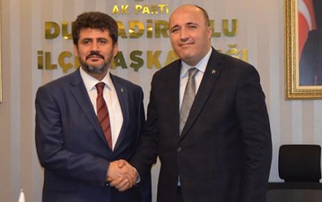 MHP'li Akpınar'dan Ak Partili Debgici'ye Ziyaret