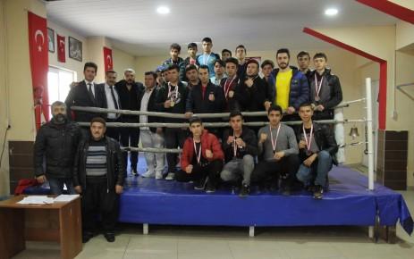 Okul Sporları Boks Gençler İl Birinciliği Turnuvası Tamamlandı