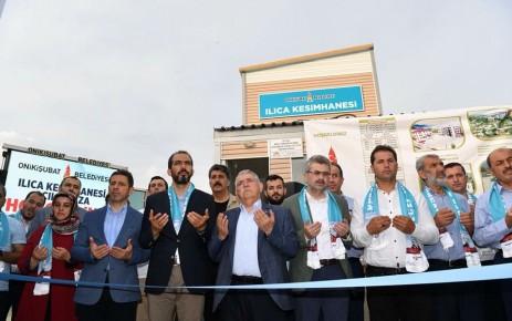 Onikişubat Belediyesi Ilıca Kesimhanesi Hizmete Açıldı