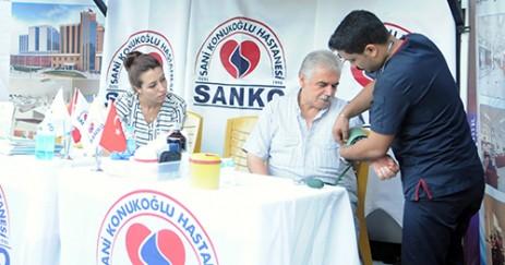 Özel Sani Konukoğlu Hastanesi Festival Alanında Stant Açtı