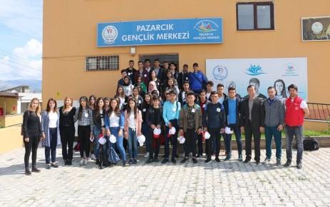 Pazarcık Kafilesi Düzenlenen Programla Ankara'ya Uğurlandı
