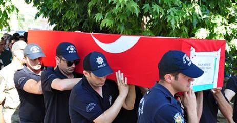 Şaka Kurbanı Polis, Son Yolculuğuna Uğurlandı