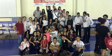 Şehit Eren Bülbül Wushu Sanda Turnuvasında Takım Birinciliği Geldi