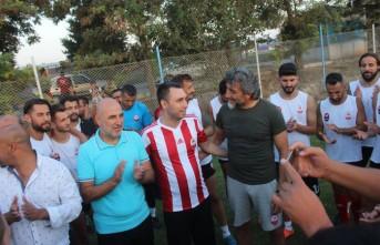 Ülkü Ocakları İl Başkanı Kayış'tan Kahramanmaraşspor'a Tatlı Moral