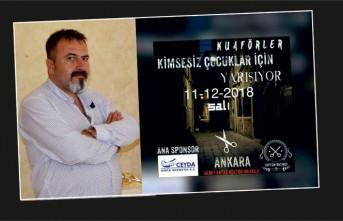 Kuaförler Ankara'da Kimsesiz Çocuklar İçin Yarışacak