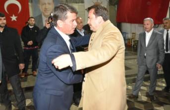 Erkoç Ve Kervancıoğlu' ndan Başkan Okumuş'a Destek