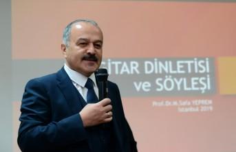 Prof. Dr. Yeprem, KSÜ'de Gitar Resitali ve Söyleşi Gerçekleştirdi