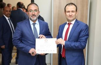 Afşin Belediye Başkanı Güven, Mazbatasını Aldı