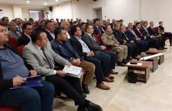 Afşin'de İlçe Koordinasyon Toplantısı Yapıldı