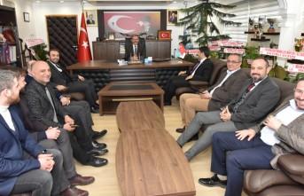 Debgici'den Başkan Aydın'a Hayırlı Olsun Ziyareti