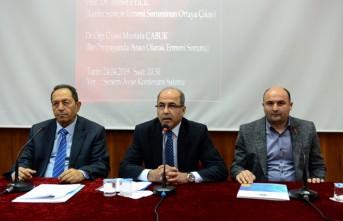 Dünden Bugüne Ermeni Sorunu ve Soykırımı Yalanı KSÜ'de Masaya Yatırıldı