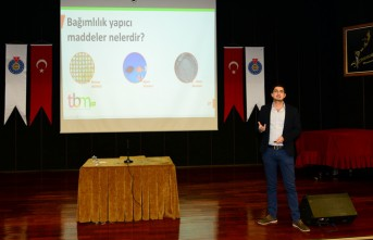 """KSÜ'de """"Teknoloji, Tütün ve Madde Bağımlılığı"""" Konferansı"""