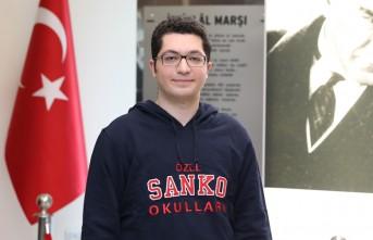 Milli Savunma Üniversitesi Aday Belirleme Sınavı'nda SANKO Öğrencisi Türkiye 4.'sü Oldu