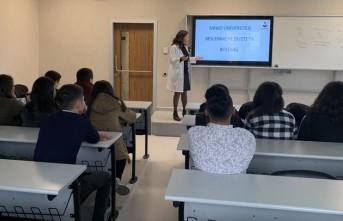 Özel Özbil Sağlık Meslek Lisesi Öğrencileri, SANKO Üniversitesi'ne Bilgilendirme Gezisi Yaptı