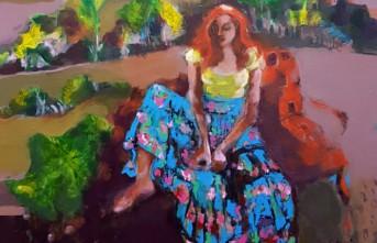 Ressam Nadire Özbek SANKO Sanat Galerisinde Sergi Açıyor