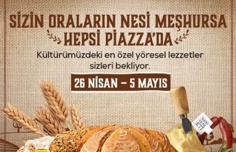 Türkiye'nin Marka Tatları Piazza'da