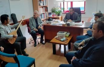 TYB Kahramanmaraş Şubesinden KAKÜDAM Müdürü Göktürk'e Ziyaret