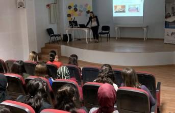 Vedat Topçuoğlu Anadolu Lisesi'ne Ziyaret