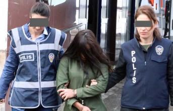 Cezaevinden Kaçan Hamile Kadın Hırsızlıktan Yakalandı