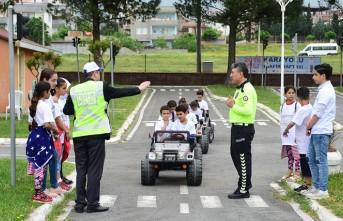 Dulkadiroğlu'nda Trafik Eğitimi